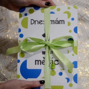 Milníkové kartičky - Můj první rok - zeleno-modré 2